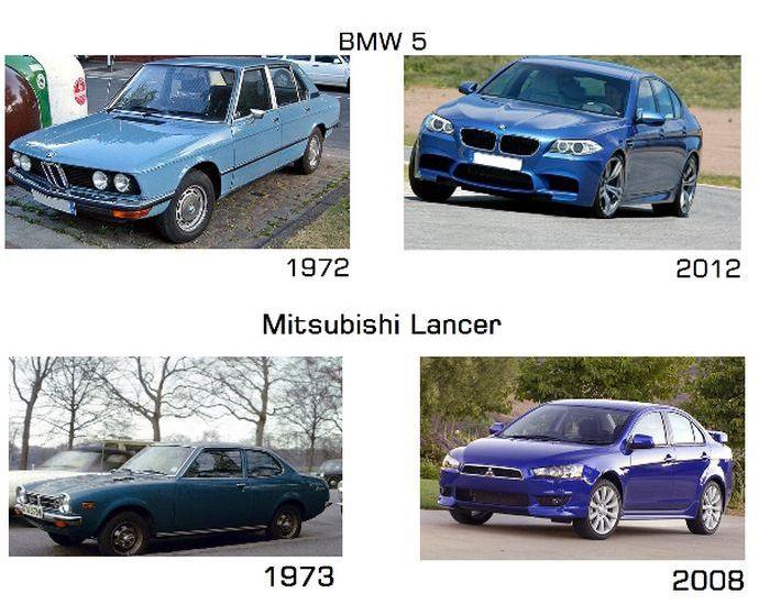 Old vs New (17 pics)