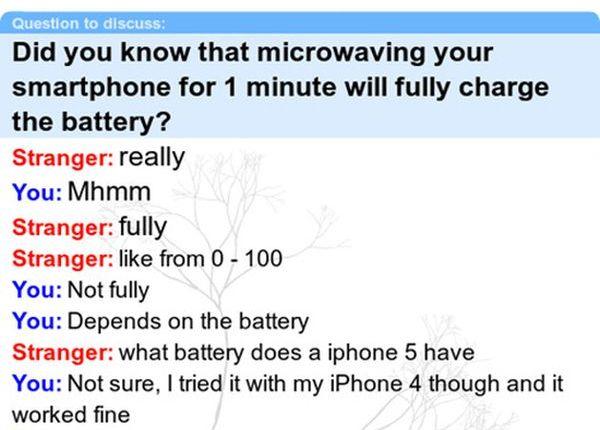 Idiot iPhone User