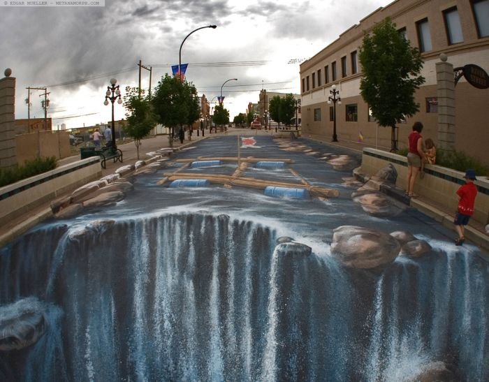 Beautifu 3-D Street Art (36 pics)