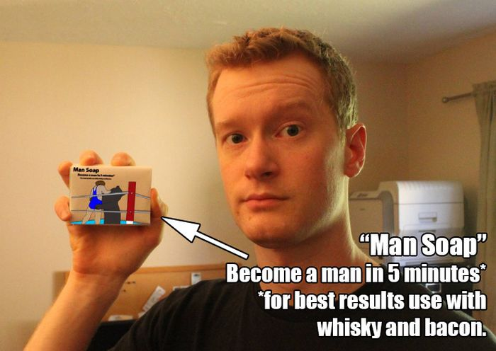 How to Become a Real Man in 5 Minutes (11 pics)
