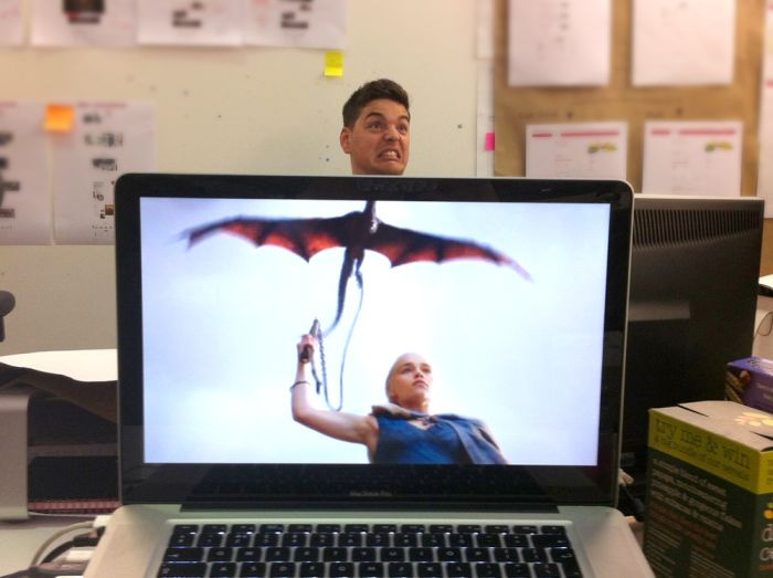 Coworkers with Animal Bodies (33 pics)