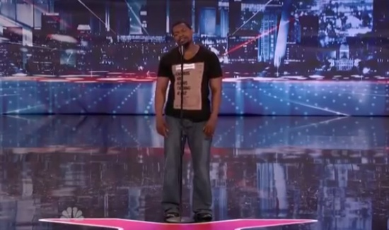 Amazing Voice of Travis Pratt on Talent Show
