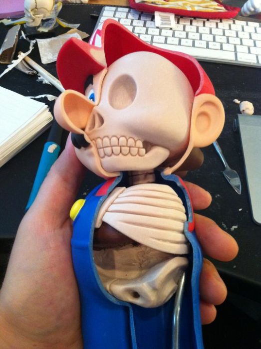 Dissected Mario (29 pics)