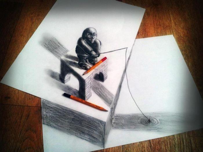 3D Drawings (41 pics)