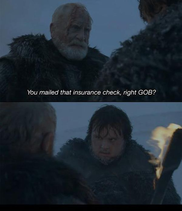 Arrested Development Meets Game of Thrones (14 pics)