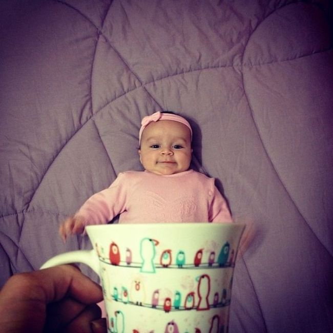 Baby Mugging Is a New Trend (21 pics)