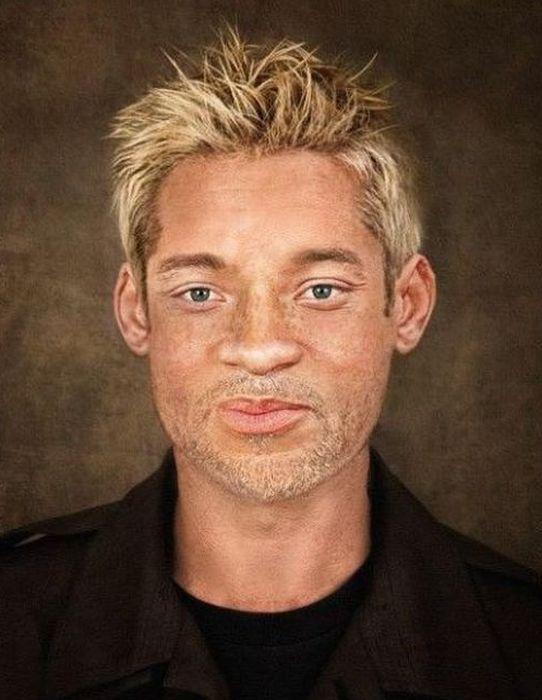 Celebrity Race Reversals (15 pics)