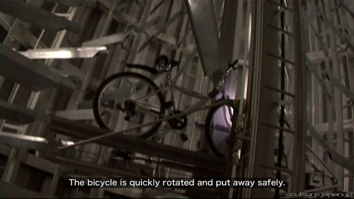 Automated Underground Bike Storage in Japan (12 pics + video)