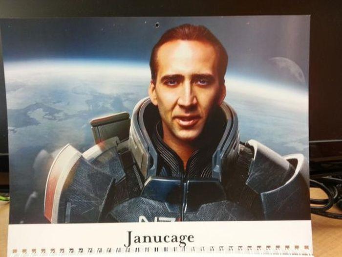 Nicolas Cage Calendar (13 pics)
