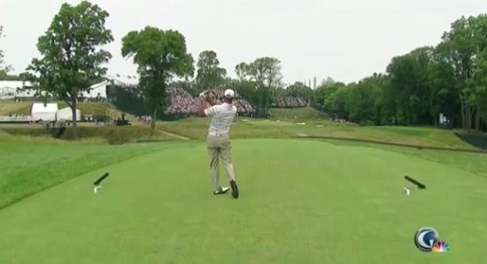 Incredible Golf Shot