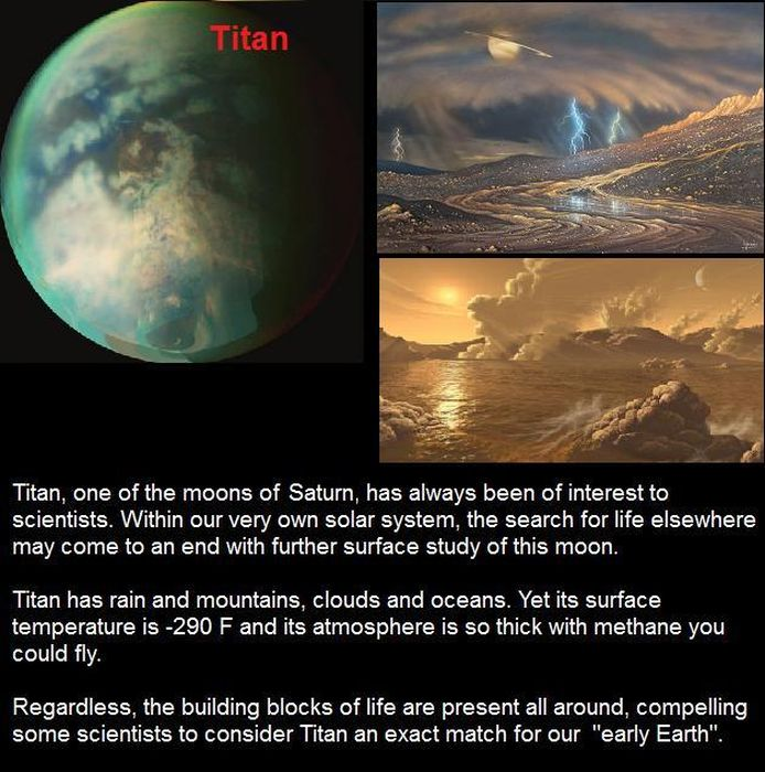 Earth-like Planets (10 pics)