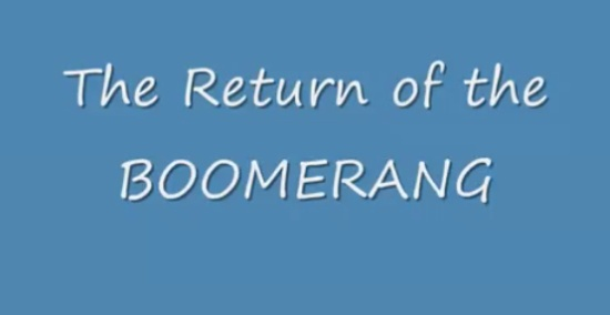 How to Make a Boomerang to Return Back