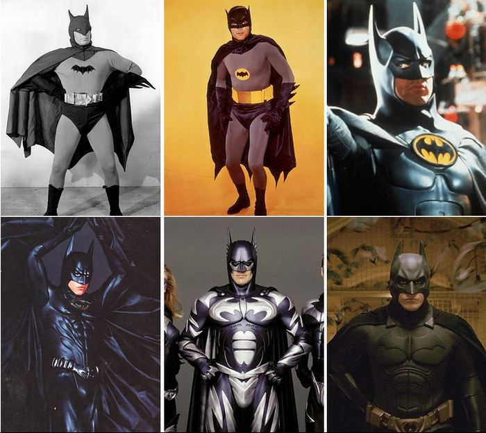 How the Superhero Fashion Has Changed (47 pics)