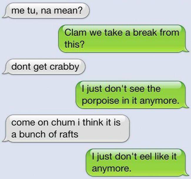 Funny Conversation (10 pics)