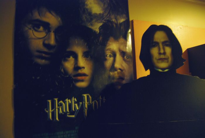 Snape Does Things (20 pics)