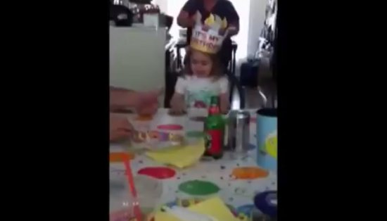 Unexpected Birthday Wish of The Little Girl