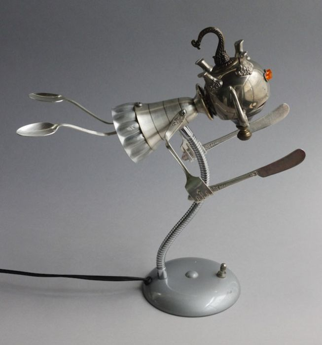 Sculptures From Scrap (25 pics)
