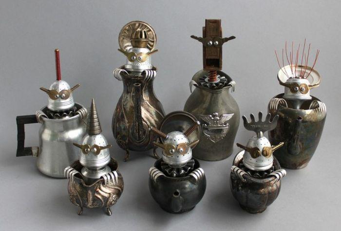 Sculptures From Scrap (25 pics)
