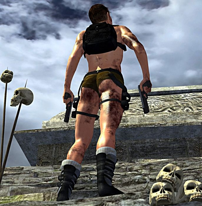 Male Lara Croft (7 pics)