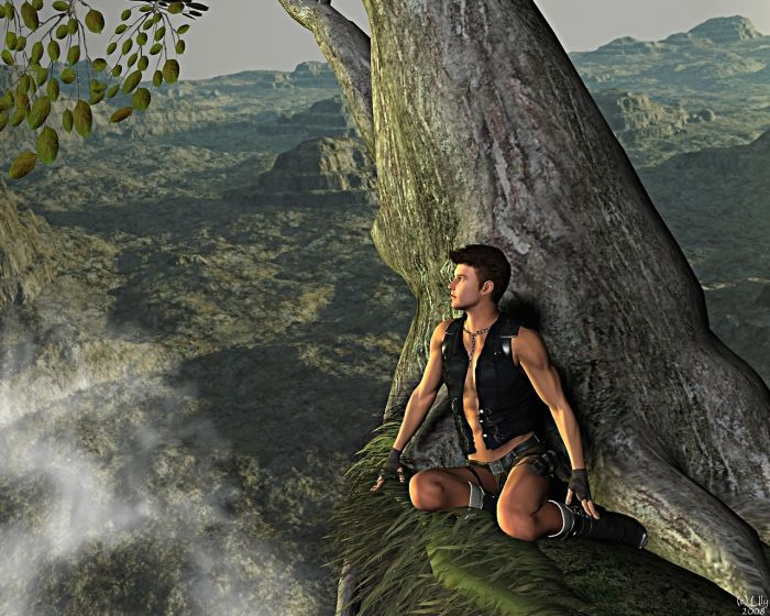 Male Lara Croft (7 pics)