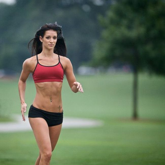 Women with Great Abs (42 pics)
