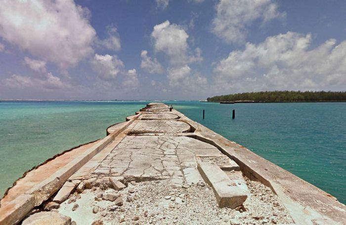 Where Google Street View Ends (8 pics)