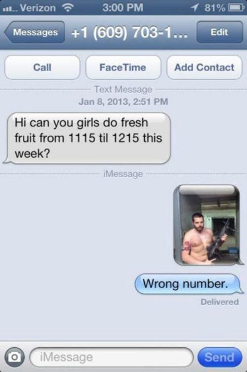 Hilarious Wrong Number Texts (20 pics)