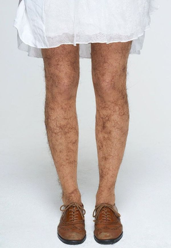 Hairy Stockings in Test (4 pics)