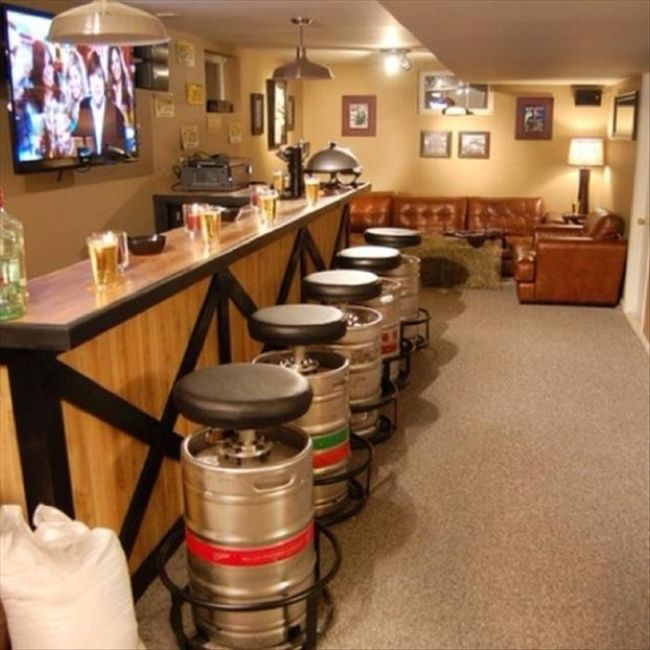 Cool Things To Put In A Basement: Cool Stuff For Your Man Cave (25 Pics