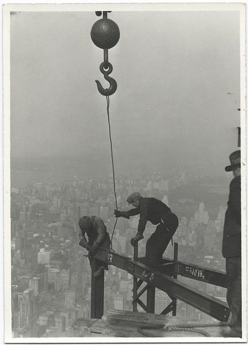 The Construction Process of the Empire State Building (24 pics)
