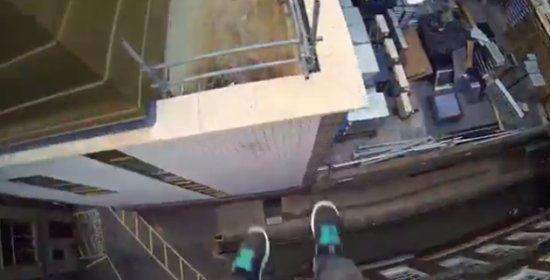 Awesome Parkour in Cambridge
