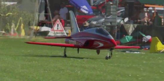Amazing Jet Fighter Model