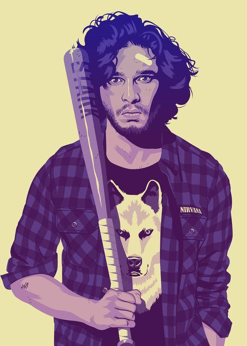 Game of Thrones Characters in the '80s or '90s (12 pics)