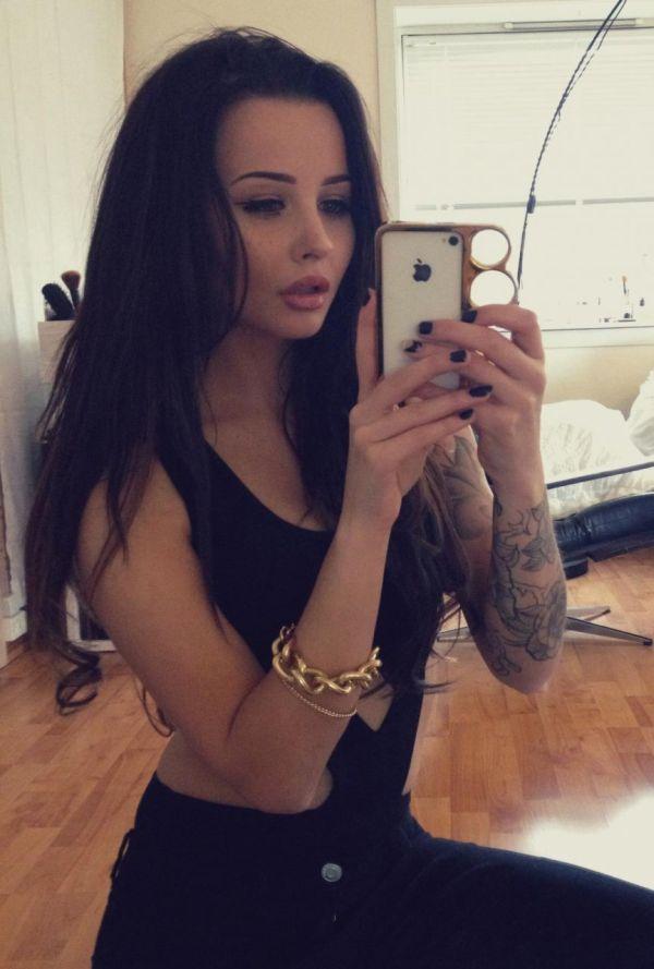 Beautiful Tattoo Girls (43 pics)