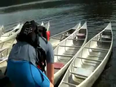 Getting into a Boat Gone Wrong