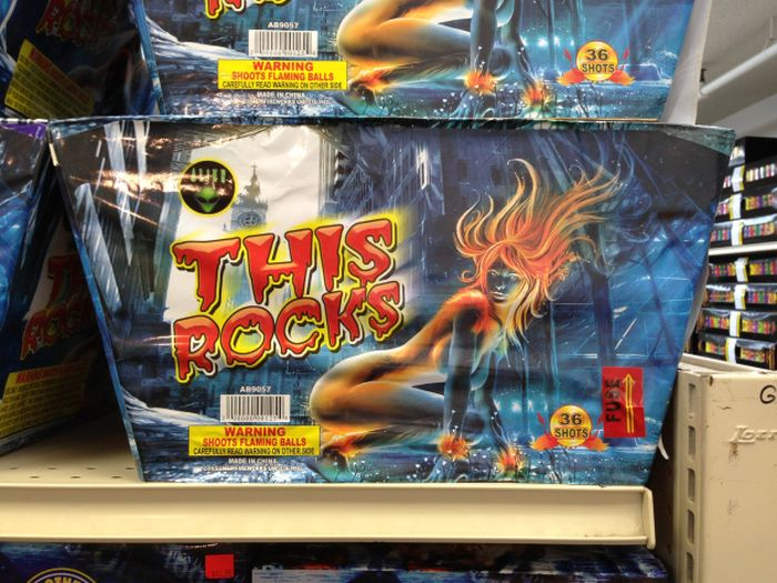 Strange and Funny Fireworks Packaging (30 pics)