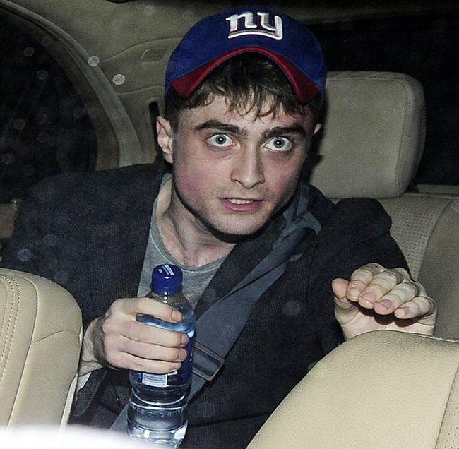 Daniel Radcliffe Looks High (5 pics)