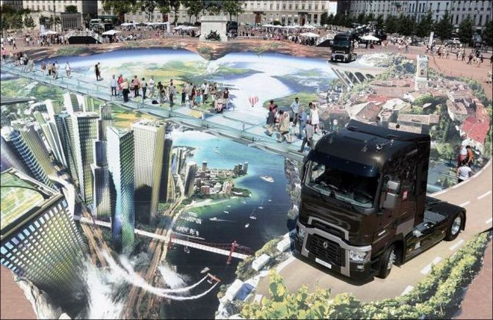 Amazing Street Art in Lyon (7 pics)