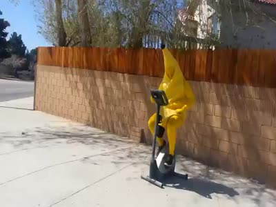 Banana-Guy in the Street