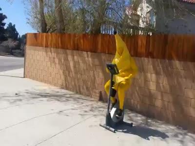 Banana-Guy in the Street