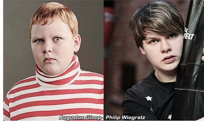 Charlie and the Chocolate Factory Then and Now (5 pics)