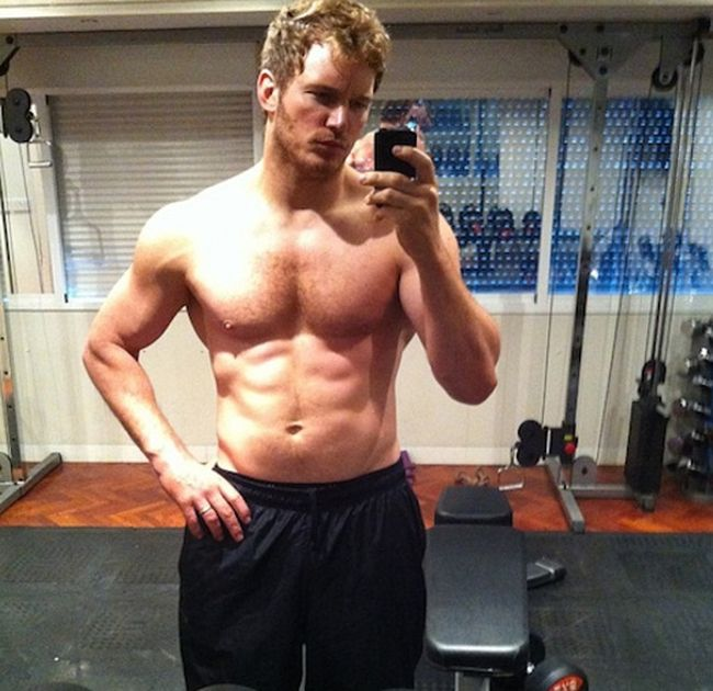 Chris Pratt Weight Changes (4 pics)