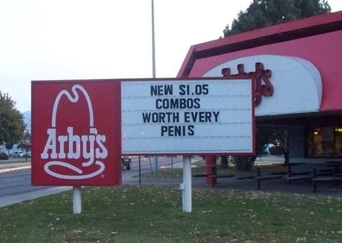 Dirty Fast Food Signs (17 pics)