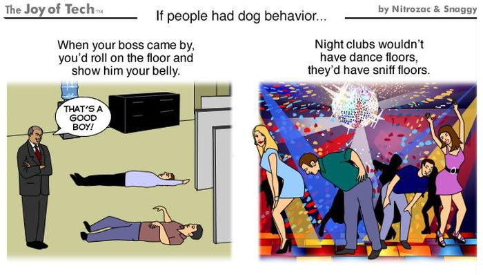If People Behaved Like Dogs (4 pics)
