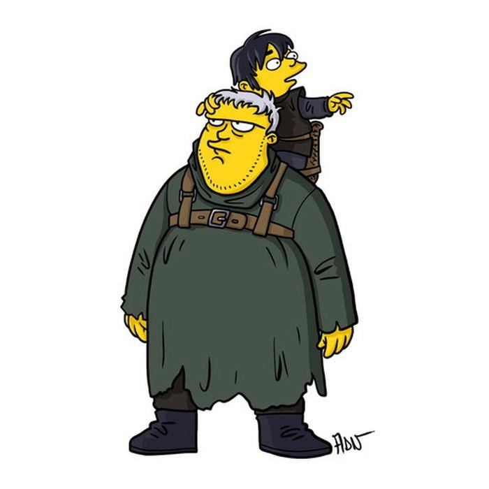 Simpsonized 'Game of Thrones' Characters (13 pics)