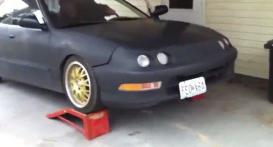 Car Tuning Gone Wrong