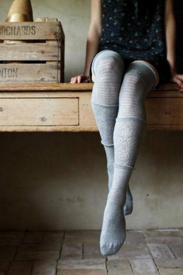 Cute Girls in High Socks (63 pics)