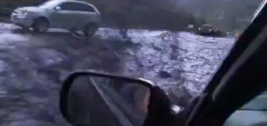 Mudslide vs Car