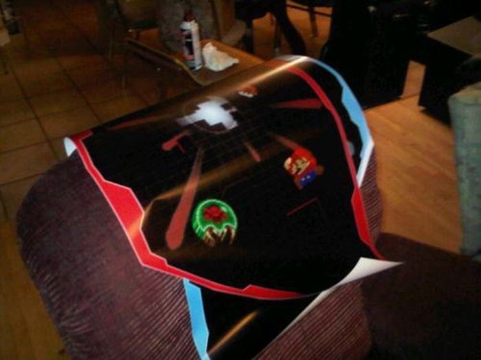 Another Homemade Arcade Game Machine (26 pics)