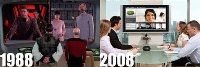 Star Trek Was Predicting The Future (5 pics)